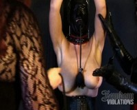 Latex Creature in Bondage (2014)