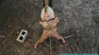 Leashed, Hobbled, Hitched, then Tied to a Post in the Dilapidated Barn part 2