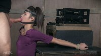 Bound strappado, and helpless in our face fucking machine, Edin Sin has found the perfect machine for