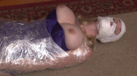 Bound and Gagged – Mummification in Packing Tape – Orgasm Denied