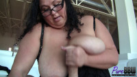 BBW goddess Bella Artista demands your cum
