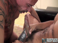 BarebackThatHole - Antonio Biaggi and Pierce Miller (deep, lick, stroking, latin)