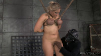 Angel Finds the Perfect Place For Her Bondage Fix