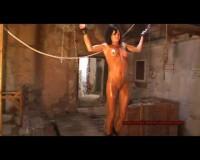 Bound Torture crucifixion