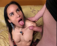 Tranny the super model fucked