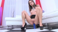Valentina Bianco - Piss  slut Valentina Blanco DAPed by 2 huge cocks