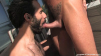 Two Muscle Men In Hot Anal Fucking