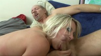 Awesome blonde fucked in ass and cunt