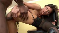 Mommy in lingerie enjoys black cock