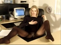 Best of Jennifer George Jerk Off Encouragement Pantyhose (Avalon, Tracy Ryan)