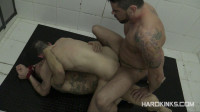 Dominated In The Shower 2 (Antonio Miracle, Jace Tyler, Mario Domenech)!