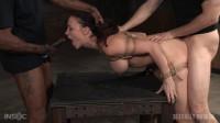 SexuallyBroken - Mar 25, 2016 - Lush brunette Chanel Preston tightly tied in rope