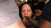 Hot MILF Wife Gangbanged and Glazed By Husband's Friends!