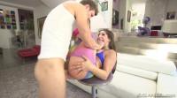 Flexible Abella's Gymnastic Butt Fuck
