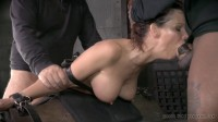 Hardbodied Milf Syren De Mer tightly tied Anally pounded, epic messy deepthroat! (2015)