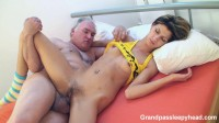 GrandpasSleepyHead-Slut fucked by old vicious