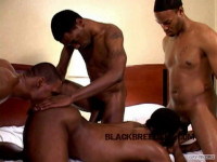 Raw Black Magnums In Orgy