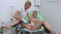 Alex Ginger 19 years girl gyno exam (2016)