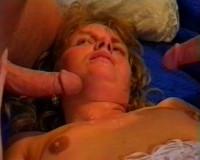 Threesome sex rocks