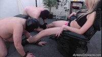 Domina today entertains with bisexual