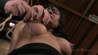 Hot Cougar with a deep throat, HUGE nipples and shaved pussy, gets Sexually Destroyed, Subspaced!