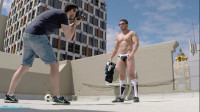 James Nowak's First Outdoor Nude Shoot BTS
