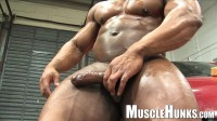MuscleHunks - Muscle Car Wash - Ron Hamilton