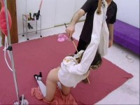 Submissive Traning For Ruby Enemas Paddling