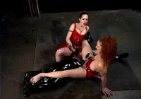 Berlin And Sabrina In Bondage Toy