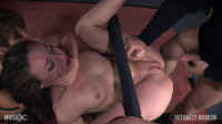 Bound To A Table And Mercilessly Fucked