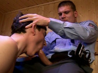 The Policeman Cumming Home (shower, cock, sex)