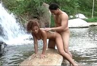 Sexo na cachoeira