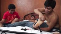 Tickling Hot Jacob - tight, asian boy, legs.