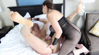 First anal penetration by Domina Alex