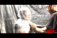 Medical Toys Mummification Fetish Fun With Plastic And Duct Tape (2013)