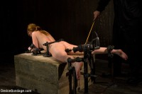 Red Hair Fair Skin — finger fucked, machine fucked, extreme nipple play, hot wax, hard caning.