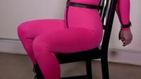 Pink Catsuit Ring Gag