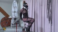 Tight bondage, torture for hot girl and machine torture