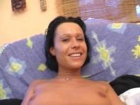 Bitch with round boobs