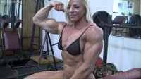 Lacey's Gym Masturbation Is As Good As It Gets