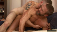 Dirk Caber and Wolf Hudson - two gay dads.