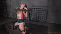 SexuallyBroken - Dec 22, 2014	- Sexy milf Cici Rhodes tightly bound in stocks
