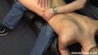 Jeff spanks Coby
