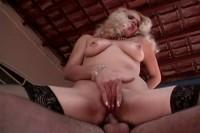 Hot blonde experienced latina