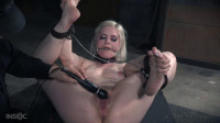 No easy orgasms for platinum blonde bombshell