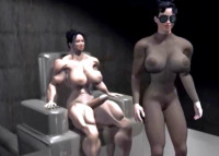 3D Shemuscle Futa Girls