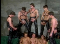 Hardcore Orgy With Muscle Men