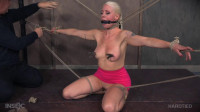 Dirty Slut In Rope Bondage