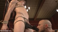 Edged so intensely that this tall stud shoots twice