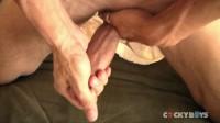 CockyBoys — Maximo Jerks Off